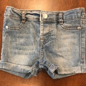 7 for all mankind 12M denim shorts